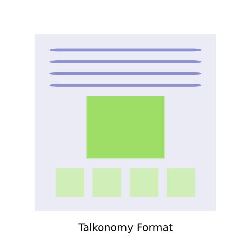 Talkonomy Format