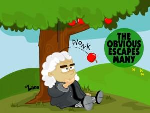 Newton Gravity - Obvious